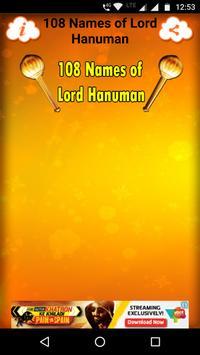 108 Names of Lord Hanuman screenshot 1