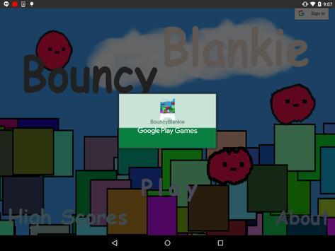 Bouncy Blankie apk screenshot