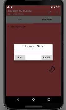 SEVGİLİM GÜN SAYACI screenshot 2