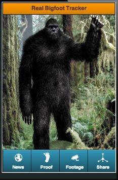 Real Bigfoot Tracker apk screenshot