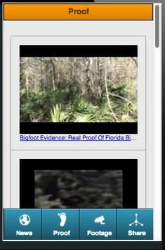 Real Bigfoot Tracker screenshot 2