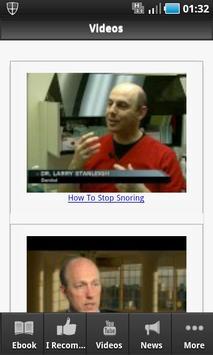 How To Stop Snoring screenshot 2