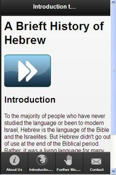 Learn Hebrew The Smart Way apk screenshot
