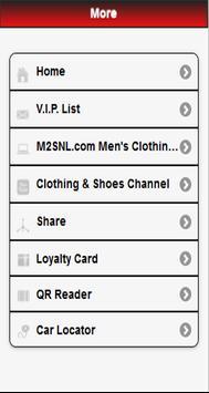 MENS CLOTHING & SHOES apk screenshot