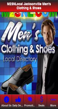 MENS CLOTHING & SHOES poster