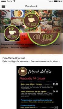 Café Verde poster