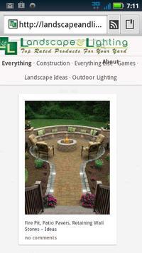 Landscape & Lighting Tips apk screenshot