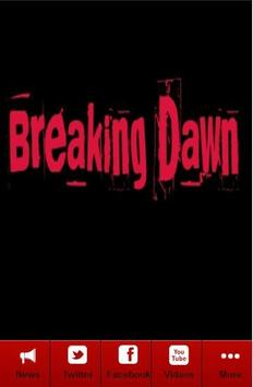 News For Breaking Dawn poster