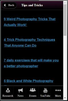 Trick Photography Resources apk screenshot