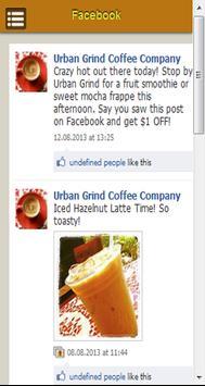 Urban Grind Coffee Company screenshot 2