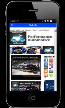 Performance Automotive apk screenshot