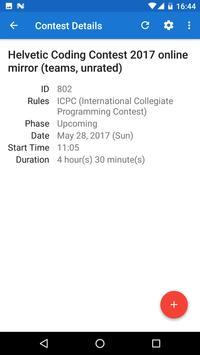 Codeforces Contests apk screenshot