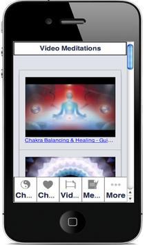 CHAKRA BALANCING MEDITATIONS apk screenshot