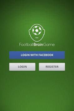 Football Brain Game poster