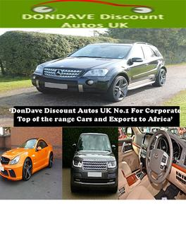 DonDave Discount Autos UK poster