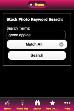 The Stock Photo App apk screenshot