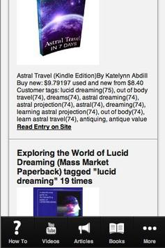 How to Lucid Dream screenshot 3