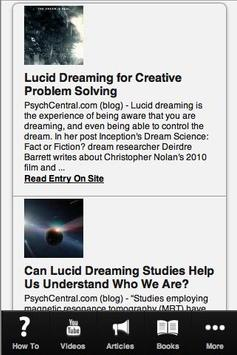 How to Lucid Dream screenshot 1
