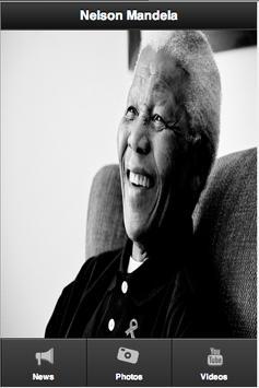 RIP Nelson Mandela poster