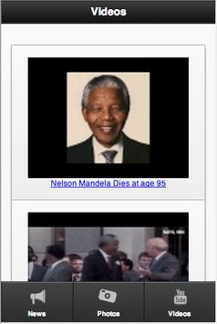 RIP Nelson Mandela apk screenshot