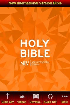 New International Version NIV poster