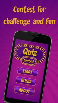 Quiz Contest poster
