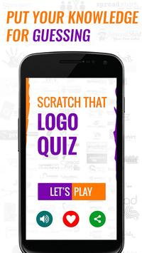 Scratch That Logo poster