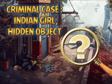 Criminal Case : Indian Girl Hidden Object poster