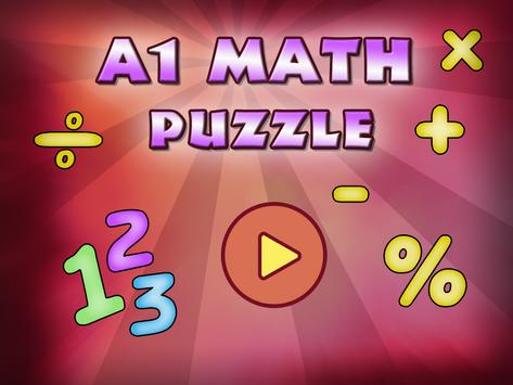 A1 Math Puzzle poster