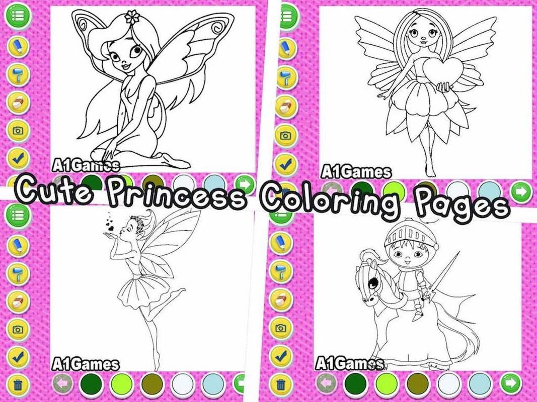 Libro para colorear indio de la princesa Doodle Descarga APK ...