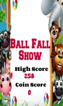 Ball Fall Show poster