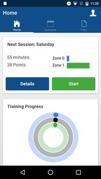 PocketCoach Training apk screenshot