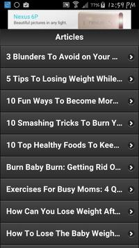 How To Lose Pregnancy Weight 2 screenshot 8