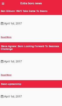 Middlesbrough Football News apk screenshot