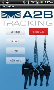 A2B UID Tracker poster