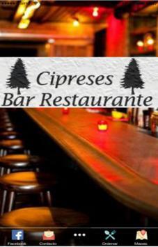 Bar Cipreses poster