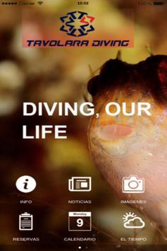 Tavolara Diving poster