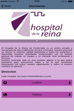 Hospital Reina poster