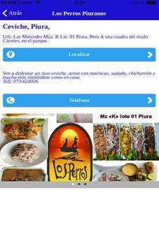 Ceviche Perú apk screenshot