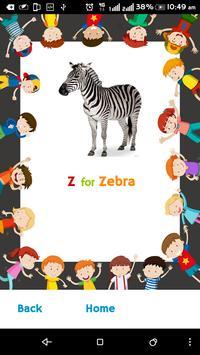 A2Z - ABC of English Alphabets apk screenshot