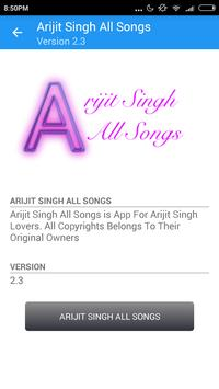 Arijit Singh All Songs apk screenshot