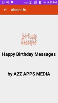 Happy Birthday Messages screenshot 3