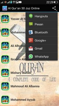 Al Qur'an 30 Juz Online screenshot 2