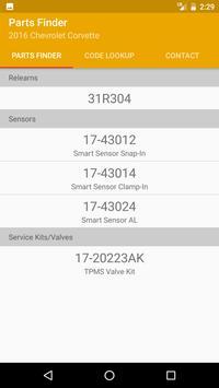 TPMS Part Finder screenshot 4