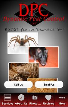 Dynamic Pest Control poster