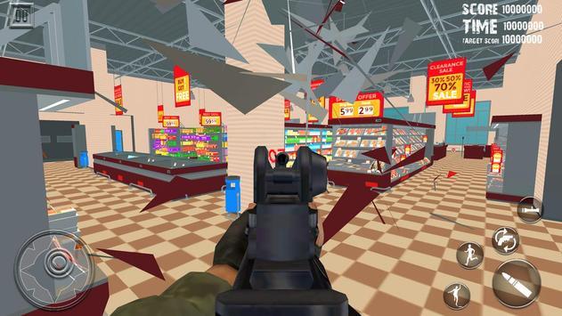 16 Schermata Ufficio Distruggere Distruzione Super Mercato