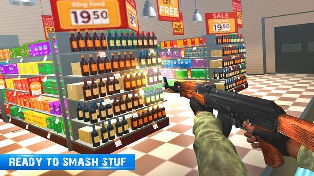 8 Schermata Ufficio Distruggere Distruzione Super Mercato