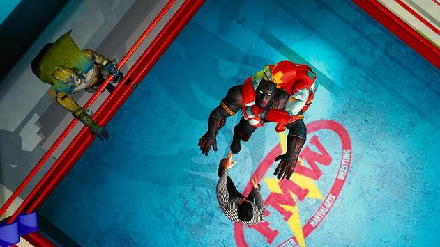 Superhero Wrestling Battle Arena Ring Fighting screenshot 11