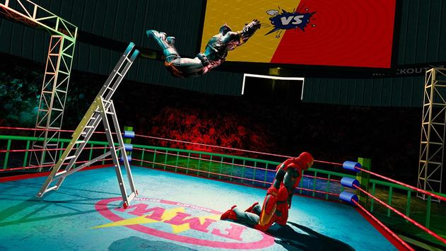 Superhero Wrestling Battle Arena Ring Fighting screenshot 4