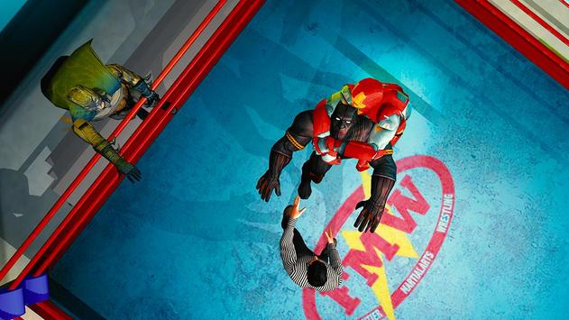 Superhero Wrestling Battle Arena Ring Fighting screenshot 6